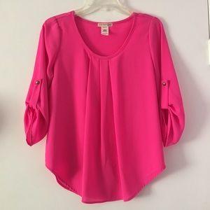 A'gaci Hot pink Blouse